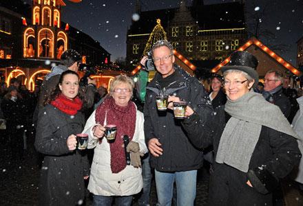 Bocholter Weihnachtsmarkt vom 1. bis 23. Dezember