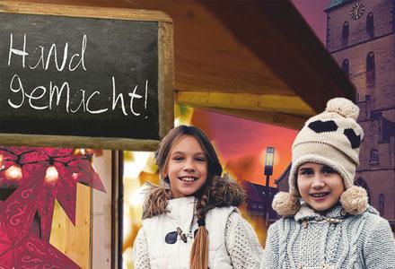 Borkener Weihnachtsmarkt vom 1. bis 3. Dezember 2017 auf dem Kirchplatz St. Remigius
