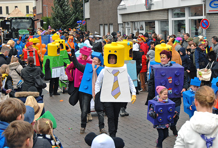 Rheder Karnevalszug 2018